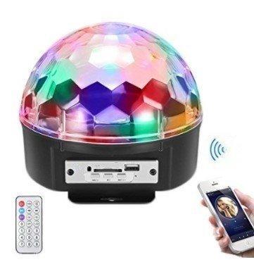 Светомузыка диско шар Magic Ball + динамик Disco Dance