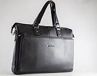 Портфель деловой черный casual А4 Fashion 6866-2