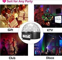 Светомузыка диско шар Magic Ball + динамик Disco Dance, фото 3