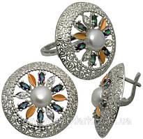 Серебро и серебро с золотом - стильные благородные модные украшения для женщин и мужчин