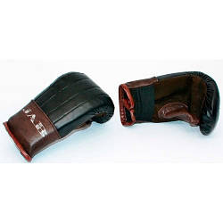 Перчатки снарядные тренировочные кожа для детей