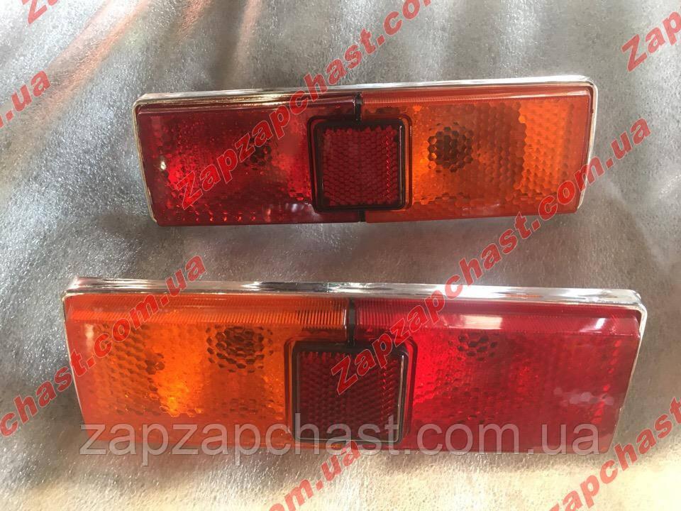 Фонари задние Ваз 21011/13 корпус хром желто/красные Формула Света (к-кт 2шт)