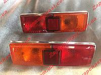 Фонари задние Ваз 21011/13 корпус хром желто/красные Формула Света (к-кт 2шт), фото 1