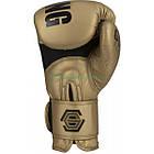 Боксерські рукавички TITLE Gold Series Select Training Золотисті, фото 2