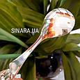 Серебряная детская ложечка Мальчик  - Детская серебряная ложечка для кормления , фото 7