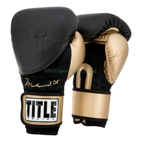 Боксерські рукавички TITLE Ali Legacy Training