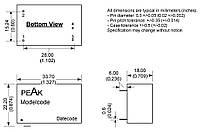 Микросхема AC-DC PPM01-S-3R3ELF (PEAK electronics)