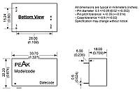 Микросхема AC-DC PPM02-S-24ELF (PEAK electronics)