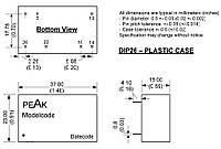Микросхема AC-DC PPM03-S-09ELF (PEAK electronics)