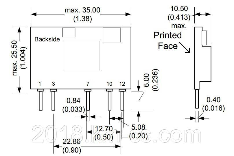 Микросхема AC-DC PPM1.65-SIP-3R3ELF (PEAK electronics)