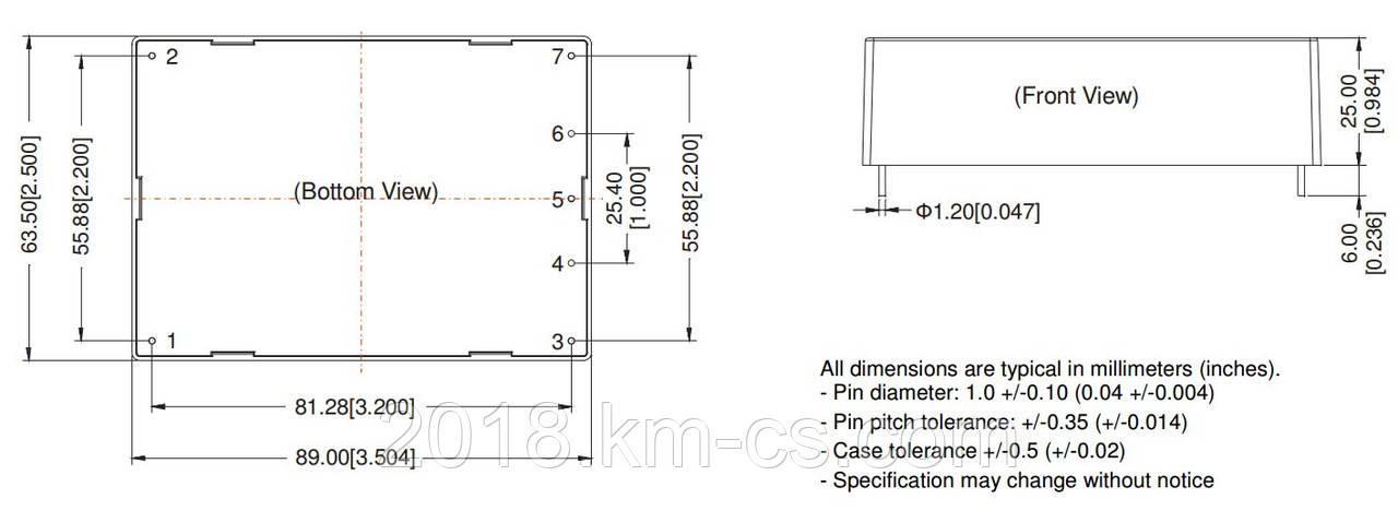 Микросхема AC-DC PPM40-H-12ELF (PEAK electronics)