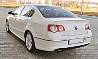 Спойлер сабля тюнинг Volkswagen VW Passat B6 стиль R36
