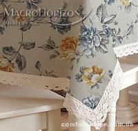 Набор Скатерть с салфетками CULLA PROVANCE Крупный цветок Синий, арт. MG-SK134189