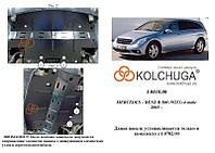 Защита на радиатор для Mercedes-Benz R-class W251 R500 (2005-2014) Mодификация: 5,0i Кольчуга 1.0810.00 Покрытие: Полимерная краска