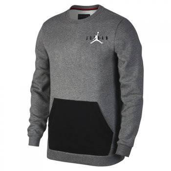 Оригинальная кофта Jordan Jumpman Air Fleece Crew   продажа, цена в ... 25026a63e7f