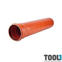 Труба для наружной канализации KG Д 110*3, 2 1000мм (220010)