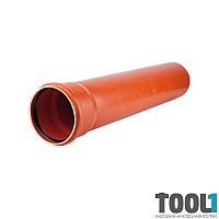 Труба для наружной канализации KG Д 110*3, 2 5000мм (220050)