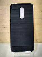 Силиконовый противоударный черный чехол Xiaomi Redmi 5