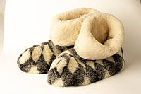 Чуни из овечей шерсти комнатние серие