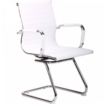 Кресло Slim CF (XH-632C) белый, фото 2