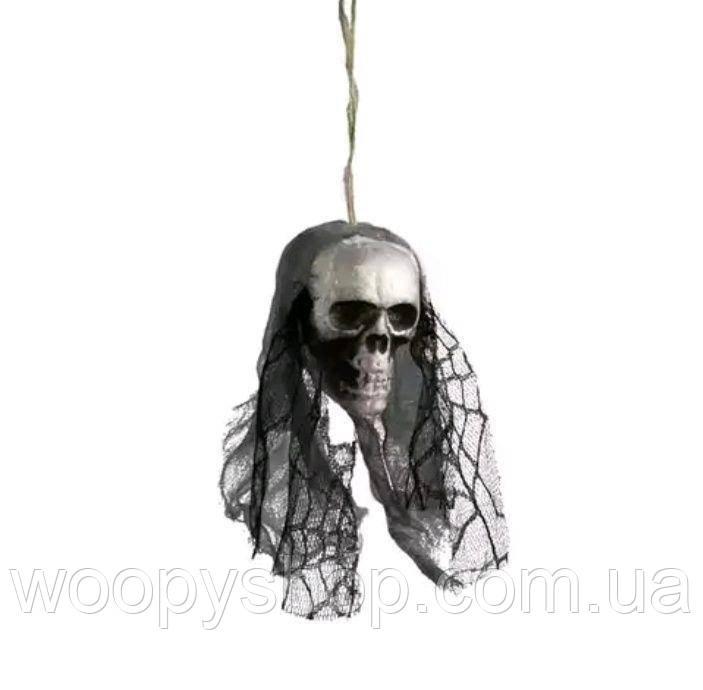 Декоративный череп. Хеллоуин. Декор