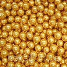 Драже золото 5 мм 50гр