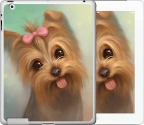 "Чехол на iPad 2/3/4 Нарисованный йоркширский терьер ""928c-25-328"""