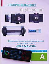 Рекуператор воздуха Прана 250, фото 2