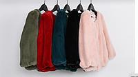Жакет, пальто короткое меховое, шуба эко мех, демисезонное