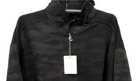 Кофта супер батал мужская на молнии Borgan Club теплая Серый камуфляж без капюшона, фото 2
