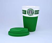 Керамический стакан кружка Starbucks (Старбакс) , фото 1