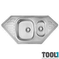 Мойка для кухни 10050 из нержавеющей стали) двойная — ULA 7802 ZS Micro Decor 08