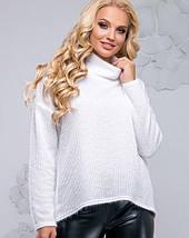 Женский свитер из ангоры-травки больших размеров (2798-2800-2799-2796 svt), фото 2