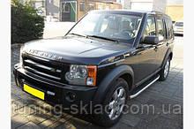 Силовые пороги Land Rover Discovery 3 (вариант Fullmond)