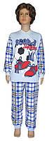 NEW! Трикотажные подростковые пижамы из интерлока для мальчиков - серия Uni Soccer Blue ТМ УКРТРИКОТАЖ!