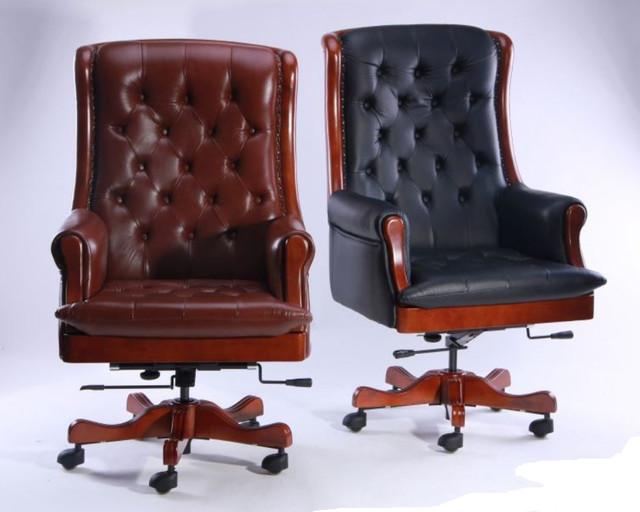 Кресло Линкольн, кожа коричневая (671-B+PVC) мех., DT-DeepTilt (Ассортимент)