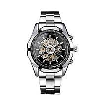 Водонепроницаемые мужские часы Winner TM340 Silver (hub_np2_0020)