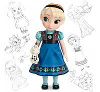 Кукла Disney Animators' Collection Elsa Doll – Frozen Дисней аниматоры Эльза