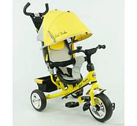 Детский трехколесный велосипед Best Trike 6588 желтый