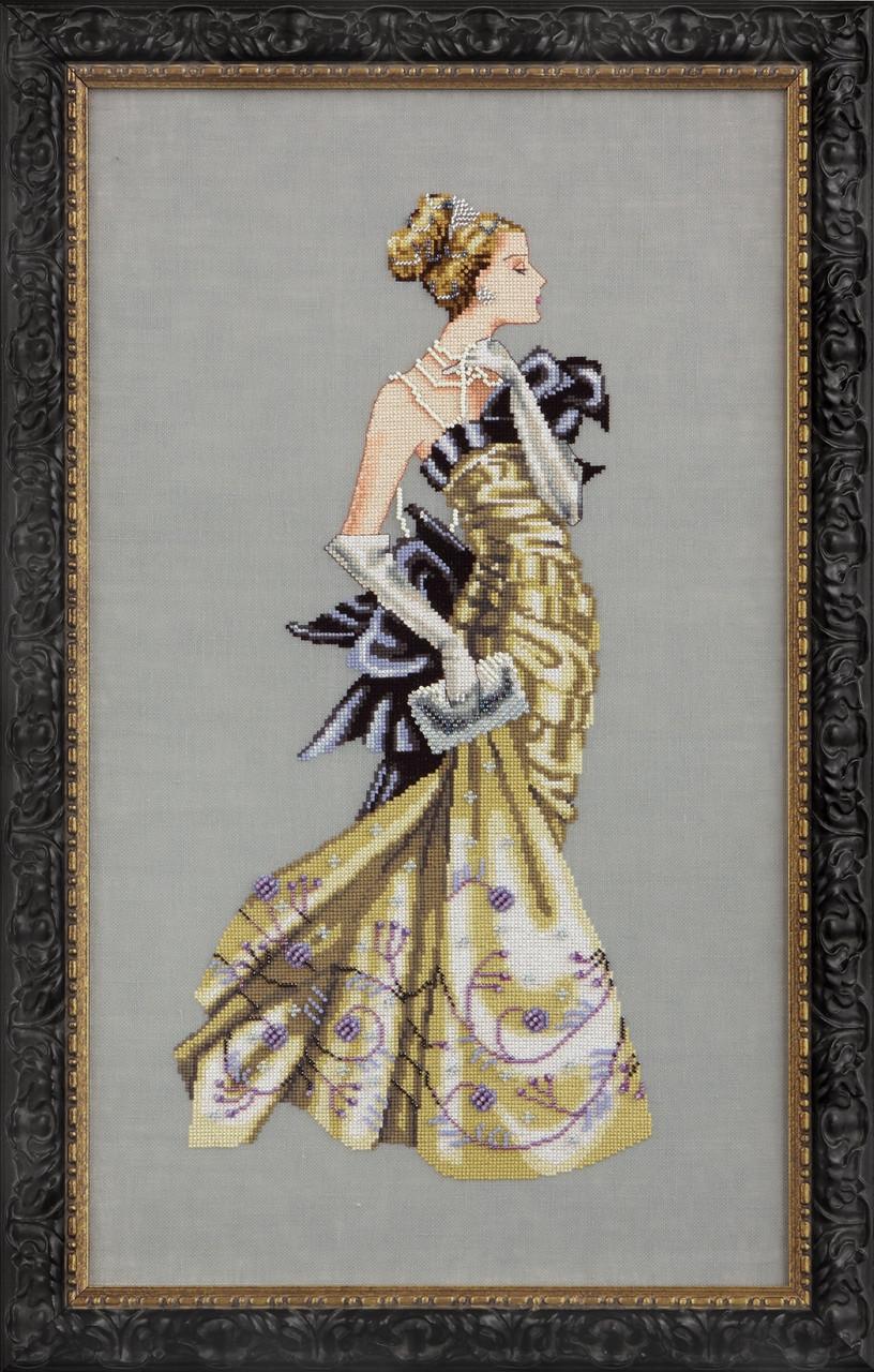 Схема Mirabilia Designs Lady Alexandra Леди Александра MD115