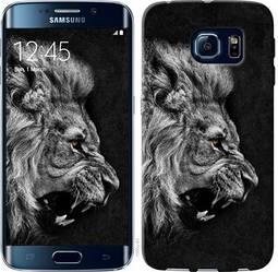 "Чехол на Samsung Galaxy S6 Edge G925F Лев ""1080c-83-328"""