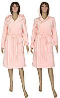 NEW! Окунитесь в облако зефира этой осенью - встречайте женские махровые халаты Zefir Pink микрофибра ТМ УКРТРИКОТАЖ!