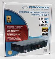ESPERANZA Цифровой Эфирный Тюнер(ресивер)  DVB-T / T2
