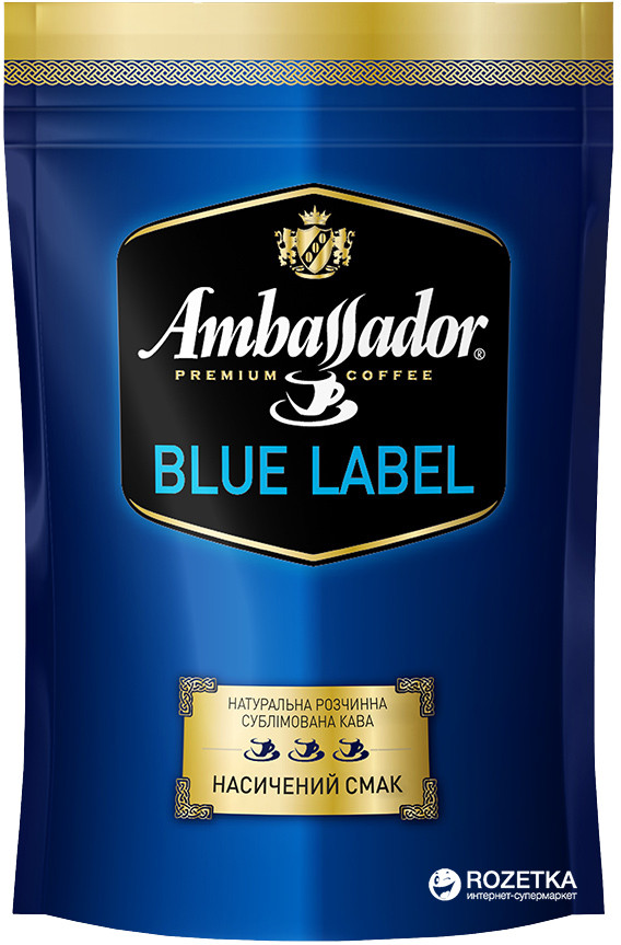 Кава Ambassador ''Blue Lable'' розчинна