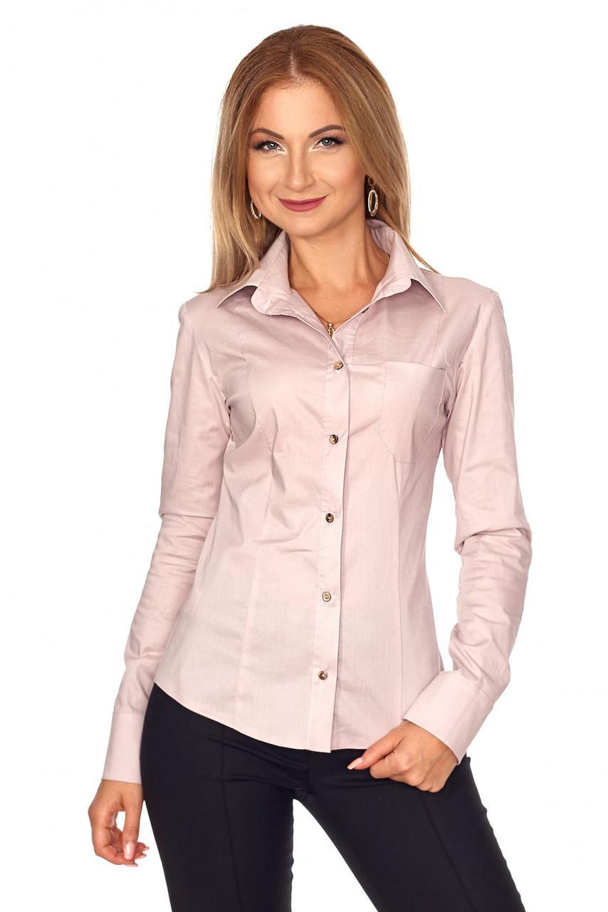 Практичная женская рубашка в классическом стиле