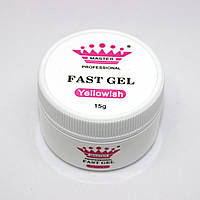 Acryl gel (поли гель)  Master Professional , 15 мл  (Yellowish), фото 1