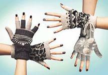 Перчатки, варежки женские