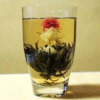 Цветущий чай ракушка, «расцветает» в чайнике во время заваривания, приятный аромат и вкус, 2 шарика, 16 г