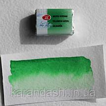 Акварель Белые Ночи Желто-зеленая (718) кювета 2,5мл, фото 3
