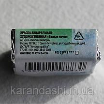 Акварель Белые Ночи Желто-зеленая (718) кювета 2,5мл, фото 2